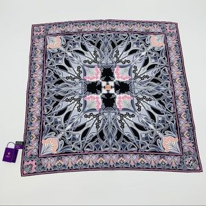 Liberty of London NWT Square 100% Silk Scarf